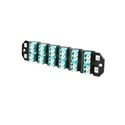 ADC-Commscope TFP-24APRQ1 Right Angle 12-Channel Duplex Multimode LC Fiber Cassette (AQUA)