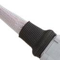 Techflex H2F1.18BK8 1.18 Inch Shrinkflex 2:1 Fabric Shrink Tubing - Black - 8 Ft