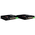 Thor F-4V-TxRx 4 Channel Composite Video Over Fiber Transmitter and Receiver