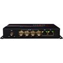 Thor Fiber F-M4SDI-ET-TXRX 4 HD-SDI 10/100 Ethernet RS485 Audio over Single Fiber TX/RX with Aux