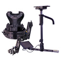 Tiffen Steadicam A-HDAB30 Aero Camera Stabilizer Sled with Anton Bauer Batt Mount & 7-Inch Monitor/A-30 Arm/Zephyr Vest