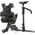 Tiffen A-HDNP15 AERO Sled with 7 Inch 3G-HD/SD/HDMI Monitor - A-15 Arm - SOLO Vest Sony NP-F970