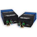 Fiberplex TKIT-DANTE-S TD-6010 (Pair) Preconfigured DANTE to Singlemode Optical Conversion 1310nm 20km Includes AC Adapt