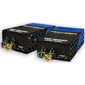 Fiberplex TKIT-MADI-S TD-6010 (Pair) HDMI Video to Singlemode Optical Conversion Video Optimized 1310nm 20km w/ AC Power