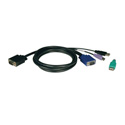 Tripp Lite P780-006 6 Ft. KVM USB/PS2 Cable