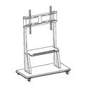 ToteVision WM-5570 Metal Bracket for use with CT-55 Trolley Cart