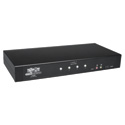 Tripp Lite B002-DUA4 4-Port Secure KVM Switch DVI / USB Audio NIAP EAL2 TAA GSA