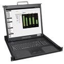 Tripp Lite B021-000-19-SH Short-Body Rackmount Console (1U) w 19 Inch LCD