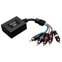 Tripp Lite B136-100 Component Video with Stereo Audio over Cat5/Cat6 Extender In-Line Remote Receiver Up to 700 Feet