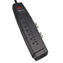 Tripp Lite HT706TSAT Home Theater Surge Protector Strip 7 Outlet RJ11 Coax 6ft Cord