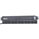 Tripp Lite IBAR12-20T Isobar Surge Protector Rackmount 20A 12 Outlet 15ft Cord 1URM
