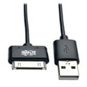 Tripp Lite M110-10N-BK USB Sync/Charge Cable with Apple 30-Pin Dock Connector Black 10 inch (.24 m)