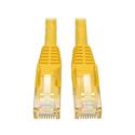 Tripp Lite N001-050-YW Cat5 Snagless RJ45 M/M Yellow 50ft