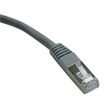Tripp Lite N105-100-GY Cat5e 350MHz Molded Shielded Patch Cable STP (RJ45 M/M) - Gray 100 Feet