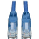 Tripp Lite N201-004-BL Cat6 Gigabit Blue Snagless Patch Cable RJ45M/M - 4 Foot