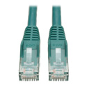 Tripp Lite N201-010-GN Cat6 Gigabit Snagless Molded Patch Cable (RJ45 M/M) - Green 10 Feet