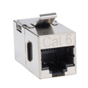 Tripp Lite N235-001-SH Cat6 Straight Through Modular Shielded In-line Snap-in Coupler (RJ45 F/F)