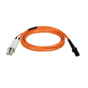 Tripp Lite N314-01M Duplex Multimode 62.5/125 Fiber Patch Cable (MTRJ/LC) 3 Feet
