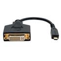 Tripp Lite P132-06N-MICRO Micro HDMI (Type D) to DVI-D Adapter (M/F) 6-Inch