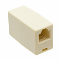Tripp-Lite P420-001 RJ11 Straight Through Modular In-Line Coupler (F/F) - 10 Pack