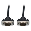 Tripp Lite P502-015-SM Low-Profile VGA Coax Monitor Cable High Resolution Cable with RGB Coax (HD15 M/M) 15 Feet