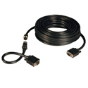 Tripp Lite P503-100 Easy Pull All in One SVGA VGA Monitor Cable HD15 M/M 100 Ft.