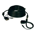 Tripp Lite P504-050-EZ Easy Pull SVGA VGA Monitor & Audio Cable w RGB Coax 50ft