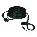 Tripp Lite P504-100-EZ High Resolution SVGA/VGA Monitor Easy Pull Cable with Audio and RGB Coax (HD15 M/M) 100 Feet