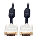 Tripp Lite P568-003 50ft DVI Dual Link TMDS Cable Molded Shielded DVI-D M/M 50Ft