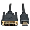 Tripp Lite P566-030 HDMI to DVI Cable Digital Monitor Adapter Cable (HDMI to DVI-D M/M) 30 Feet