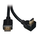 Tripp Lite P568-006-RA High Speed HDMI Cable - 1 Right Angle Connector Ultra HD 4K x 2K Digital Video/Audio (M/M) 6 Ft