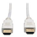 Tripp Lite P568-006-WH High Speed HDMI Cable Ultra HD 4K x 2K Digital Video with Audio (M/M) White 6 Feet