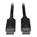 Tripp Lite P580-025 DisplayPort Cable with Latches (M/M) 25 Feet