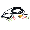Tripp Lite P756-010 VGA/USB/Audio Combo Cable Kit 10ft for B006-VUA4-K-R KVM Switch