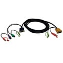 Tripp Lite P757-010 10ft VGA/PS2/Audio Combo Cable Kit for B006-VUA4-K-R KVM Switch