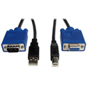 Tripp Lite P758-006 USB Cable Kit for KVM Switch B006-004-R - 6 Foot