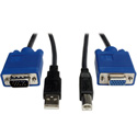 Tripp Lite P758-010 USB Cable Kit for KVM Switch B006-004-R - 10 Foot