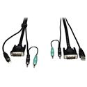 Tripp Lite P759-006 6ft Cable Kit for B002-DUA2 / B002-DUA4 Secure KVM Switches 6 Foot