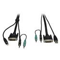 Tripp Lite P759-010 Cable Kit for Secure KVM Switches B002-DUA2 / B002-DUA4 10 Feet