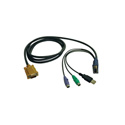 Tripp Lite P778-015 USB/PS2 Combo Cable for NetDirector KVM Switches B020-U08/U16 and KVM B022-U16 15 Feet