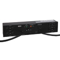 Tripp Lite PDUB20 PDU Dual Source Hot Swap 100-127V 16A 8 5-15/20R Horizontal 2URM
