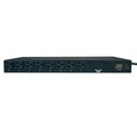 Tripp Lite PDUMH20AT PDU Metered ATS 120V 20A 5-15/20R 16 Outlet L5-20P Horizontal 1U