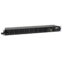Tripp Lite PDUMH20NET2 PDU Switched 120V 20A 5-15/20R 8 Outlet L5-20P Horizontal