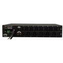 Tripp Lite PDUMH30HV19NET PDU Switched 208V - 240V 30A 8 C13; 6 C19 L6-30P Horizontal 2URM