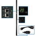 Tripp Lite PDUMV20NETLX 1.9kW Single-Phase Switched PDU with 20A LX Platform Interface - 120V Outlets - 10 Foot Cord