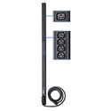 Tripp Lite PDUV30HV 5/5.8kW Single-Phase Basic PDU 208/240V Outlets (6 C19 and 32 C13) L6-30P 10ft Cord 0U Vertical