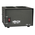 Tripp Lite PR12 DC Power Supply 120VAC Input to 13.8VDC Output for 40 Watt Transmitters  12-amps