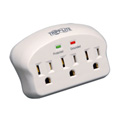 Tripp Lite SK3-0 Surge Protector Wallmount Direct Plug In 3 Outlet 660 Joule