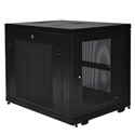 Tripp Lite SR12UB 12U Rack Enclosure Server Cabinet Doors & Sides 300lb Capacity