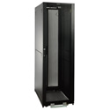Tripp Lite SR2400 42U Rack Enclosure Server Cabinet Doors & Sides 2400lb Capacity